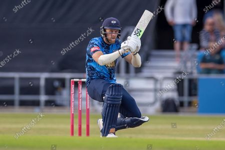 David Willey during the Vitality T20 Blast North Group match between Yorkshire Vikings and Leicestershire Foxes at Emerald Headingley Stadium, Leeds