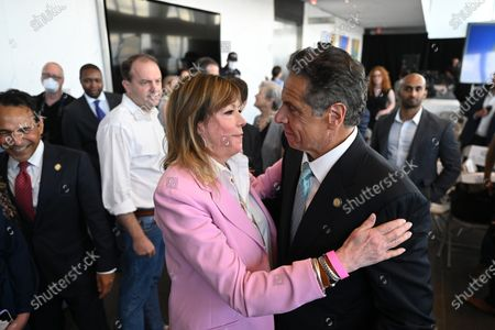 Jane Rosenthal and Governor Andrew Cuomo
