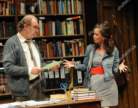 'Educating Rita' - Tim Pigott-Smith (Frank) and Laura Dos Santos (Rita)