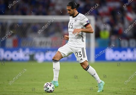 Germany's Emre Can during the Euro 2020 soccer championship group F match between France and Germany at the Allianz Arena stadium in Munich
