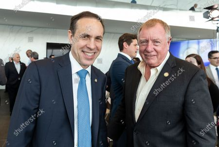 NYS Commissioner of Health Howard Zucker and President and CEO of Jacob Javits convention Center Alan Steel attend Governor Cuomo announcement COVID-19 restrictions lifted as 70% of adult New Yorkers have received first dose of vaccine at One World Trade Center. Governor praised all New Yorkers for doing their parts during pandemic. Governor especially lauded essential workers and presented awards to those who carried New York State through the COVID-19 pandemic. Governor said that mask requirement for unvaccinated individuals and in certain settings (e.g., large-scale indoor event venues, pre-K to grade 12 schools, public transit, homeless shelters, correctional facilities, nursing homes and health care settings per CDC guidance) will stay in place.