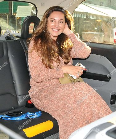 Kelly Brook out and about, London