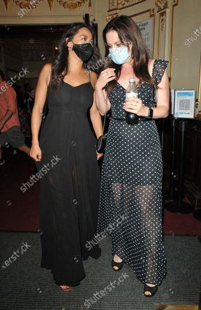 Katya Jones and Joanne Clifton