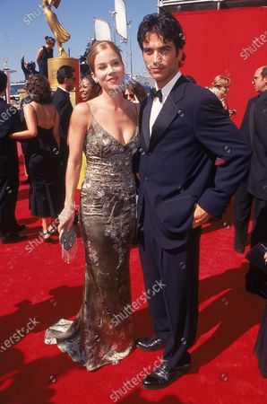Editorial picture of (L-R) Dating actors Christina Applegate and Jonath, Los Angeles, California, USA - 13 Sep 1998