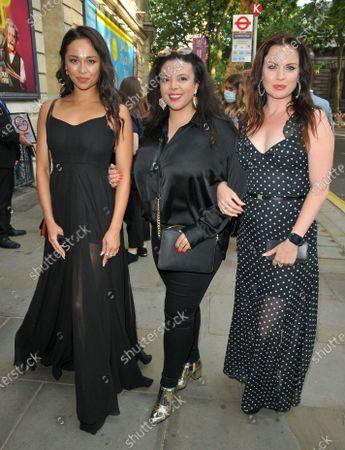 Katya Jones, guest and Joanne Clifton