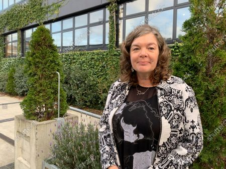 Stock Image of Juliet Gerrard, the chief science advisor to New Zealand Prime Minister Jacinda Ardern, poses for a photo in Wellington, New Zealand on . Gerrard has played a key role in New Zealand's lauded coronavirus response