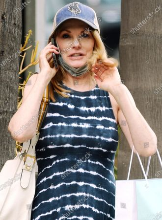 Editorial image of Exclusive - Marg Helgenberger out and about, Santa Monica, Los Angeles, California, USA - 15 Jun 2021