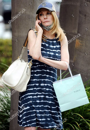 Editorial picture of Exclusive - Marg Helgenberger out and about, Santa Monica, Los Angeles, California, USA - 15 Jun 2021