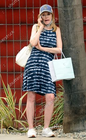 Editorial photo of Exclusive - Marg Helgenberger out and about, Santa Monica, Los Angeles, California, USA - 15 Jun 2021