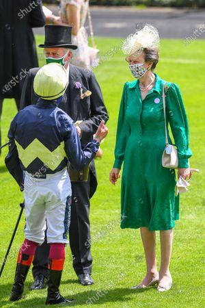 Editorial picture of Royal Ascot, Horse Racing, Ascot Racecourse, Berkshire, UK - 16 Jun 2021