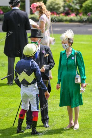 Brigadier Andrew Parker Bowles and Princess Anne