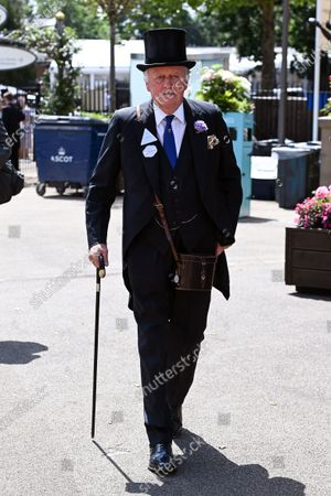 Stock Photo of Andrew Parker Bowles