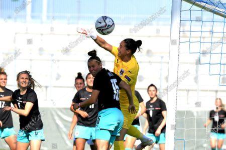 Editorial image of Austria v Italy, Womens International Friendly, Wiener Neustadt Arena Vienna, Austria - 14 Jun 2021