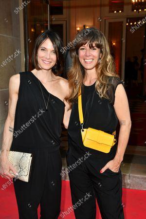 Stock Photo of Laetitia Fourcade and Magali Ripoll