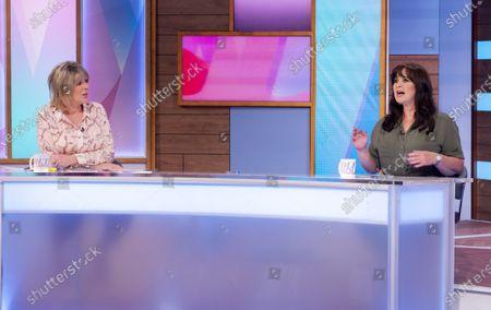 Editorial picture of 'Loose Women' TV show, London, UK - 16 Jun 2021