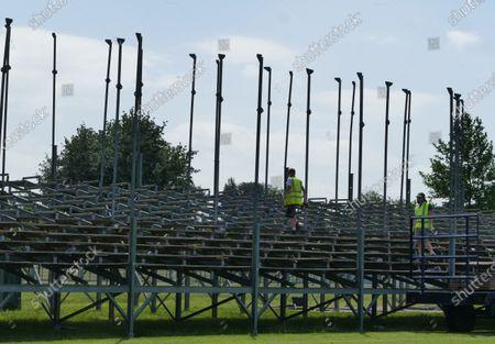 Henley Royal Regatta preparations