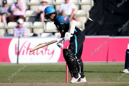 Editorial photo of Worcestershire County Cricket Club v Yorkshire County Cricket Club, Vitality T20 Blast North Group - 16 Jun 2021