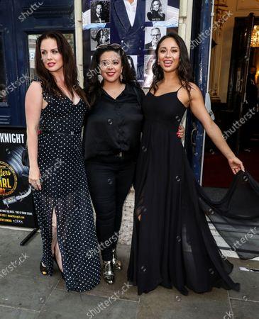 Joanne Clifton, Sasha Latoya and Katya Jones