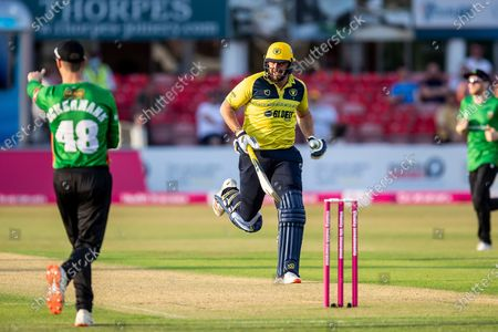 Editorial image of Leicestershire County Cricket Club v Warwickshire County Cricket Club, Vitality T20 Blast North Group - 16 Jun 2021