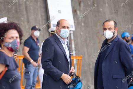 Stock Image of Nicola Zingaretti, President of Lazio Region