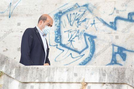 Stock Photo of Nicola Zingaretti, President of Lazio Region