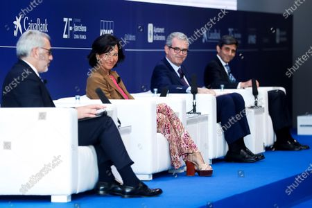 Editorial photo of 36th Cercle d'Economia meeting in Barcelona, Spain - 16 Jun 2021