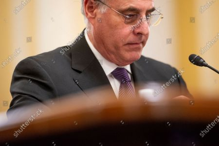 U.S. Capitol Police Inspector General Michael Bolton appears before a Senate Committee on Rules and Administration oversight hearing to examine the U.S. Capitol Police following the January 6th attack on the Capitol, in the Russell Senate Office Building in Washington, DC,.