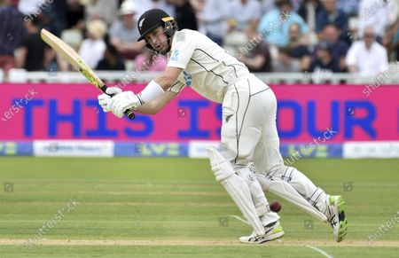 Stock Picture of New Zealand's Will Young during the second day of the 2nd Test match between England and New Zealand at Edgbaston cricket ground in Birmingham, England