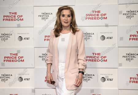 """Tribeca Studios executive producer Paula Weinstein attends """"The Price of Freedom"""" premiere during the 20th Tribeca Festival at Hudson Yards, in New York"""