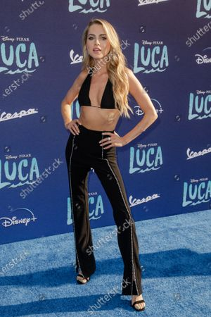 Editorial image of Disney's 'Luca' film premiere, Arrivals, Los Angeles, California, USA - 17 Jun 2021