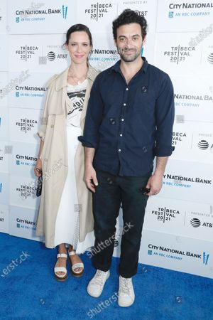 Stock Picture of Rebecca Hall and Morgan Spector