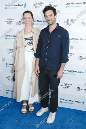 Rebecca Hall and Morgan Spector
