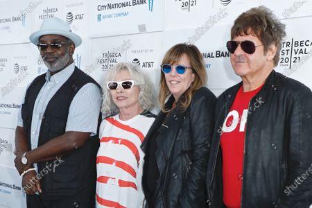 Fab Five Freddy, Deborah Harry, Jane Rosenthal, Clem Burke
