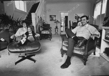 Editorial photo of Bill Graham [& Family];David Graham, San Francisco, California, USA - 25 Oct 1970