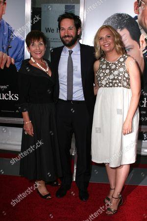 Gloria Rudd, Paul Rudd and Julie Yaeger