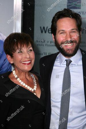 Paul Rudd and his mother Gloria Rudd
