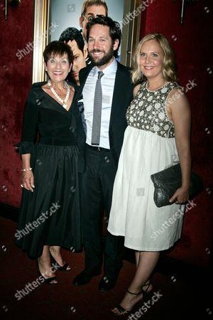 Stock Picture of Gloria Rudd, Paul Rudd and Julie Yaeger