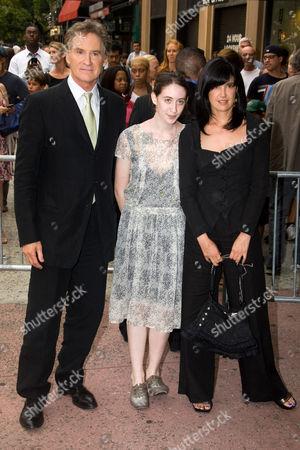 Kevin Kline, Greta Simone Kline and Phoebe Cates