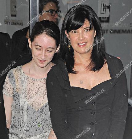 Greta Kline and Phoebe Cates