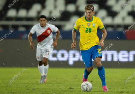 Editorial image of Brazil v Peru, Copa America, Football, Estadio Nilton Santos, Rio de Janeiro, Brazil - 17 Jun 2021