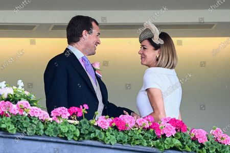 Peter Philips and Natalie Pinkham