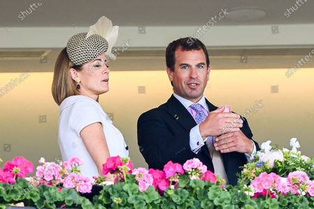 Stock Picture of Natalie Pinkham and Peter Philips