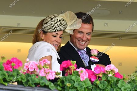 Stock Image of Natalie Pinkham and Peter Phillips