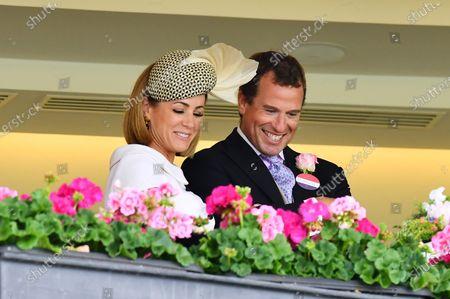 Stock Photo of Natalie Pinkham and Peter Phillips