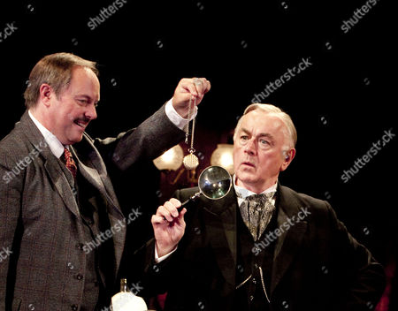 Robert Daws (Dr Watson), Peter Egan (Sherlock Holmes)