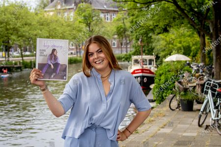 Countess Eloise van Oranje with her book. The daughter of Prince Constantijn and Princess Laurentien has released a large number of followers on Instagram and a lifestyle book.