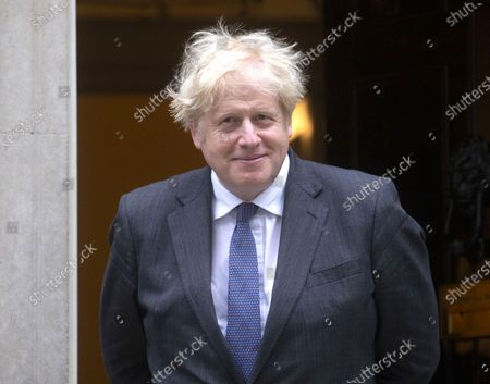 Prime Minister, Boris Johnson, meets Salman, Crown Prince of Bahrain at 10 Downing Street. Prince Salman bin Hamad bin Isa Al Khalifa is also the Prime Minister of Bahrain.