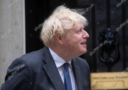 Editorial photo of Boris Johnson meeting with Crown Prince of Bahrain., Westminster, London, UK - 17 Jun 2021