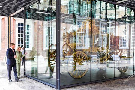 King Willem-Alexander opens 'The Golden Coach' exhibition, The Hague