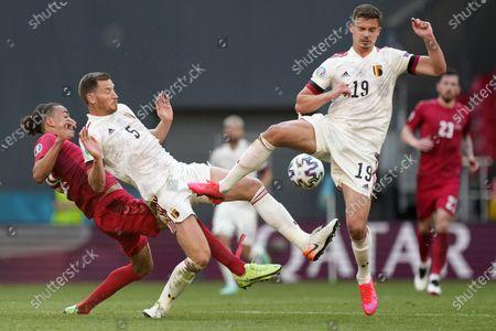 Editorial photo of Belgium Euro 2020 Soccer, Copenhagen, Denmark - 17 Jun 2021